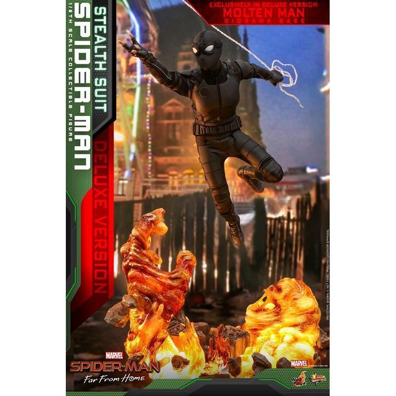 大人的玩具開箱 現貨可刷卡 HOT TOYS MMS541 蜘蛛人:離家日 蜘蛛人 潛行戰衣款 夜猴 豪華版