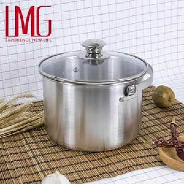 LMG 304不鏽鋼提把深鍋(附玻璃蓋)-3L