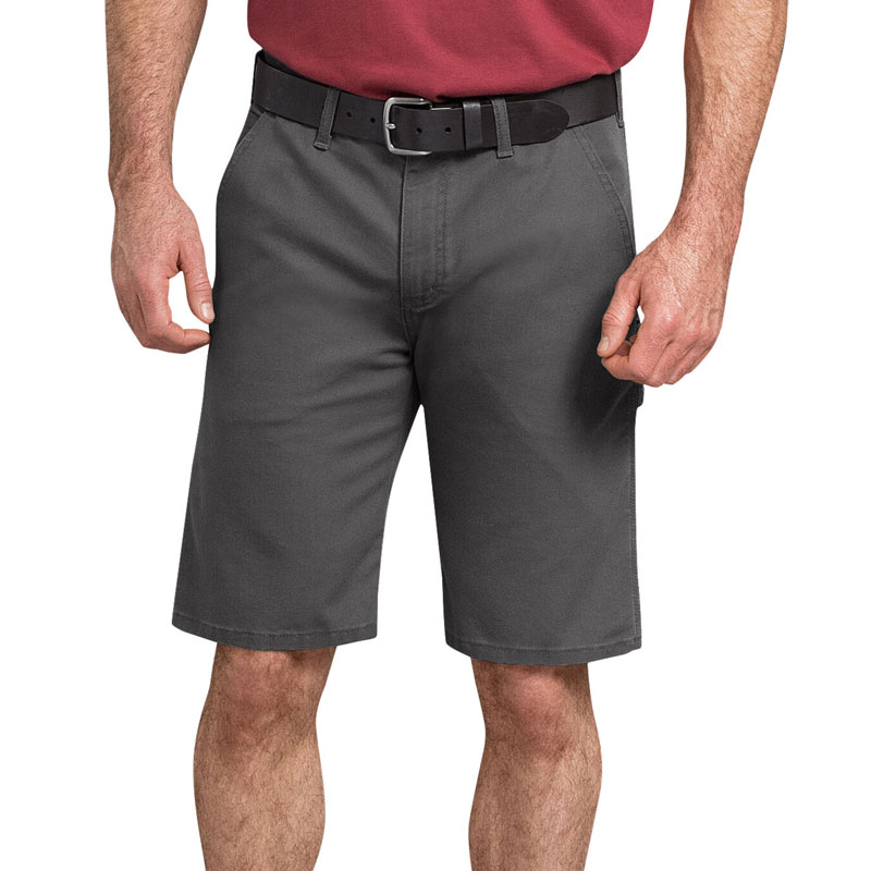 "【DICKIES】DX802 11"" Duck Carpenter Shorts FLEX 工作短褲 (SL 碎石色)"