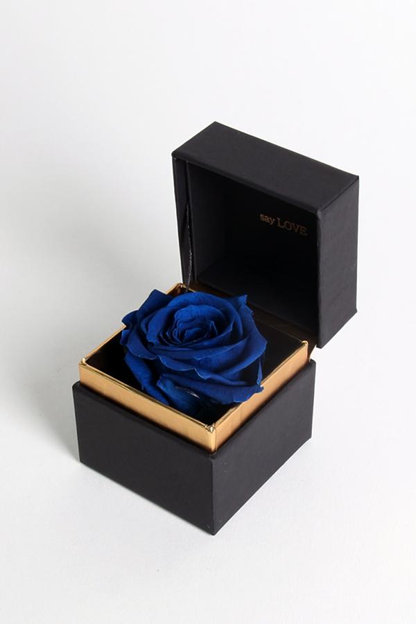 SAY LOVE恆星戒盒-琺瑯藍
