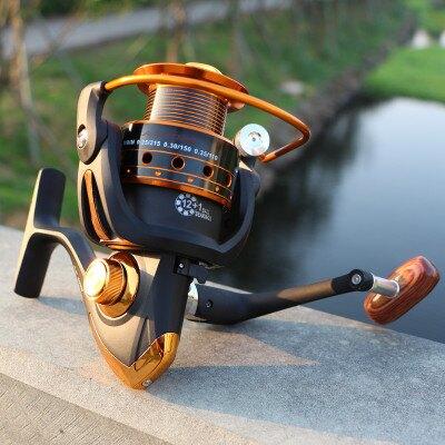 漁輪yumoshi 船釣 釣魚 漁具AX無間隙 捲線器 金屬搖臂漁線輪 魚線輪 紡車輪【精品】