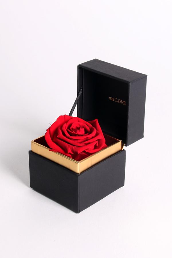 SAY LOVE恆星戒盒-櫻桃紅