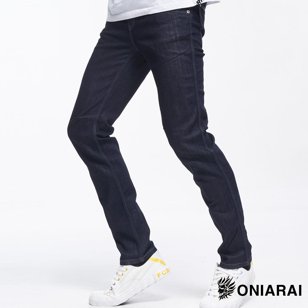 【3件8折】COOL MAX低腰直筒褲(原生藍) - BLUE WAY 鬼洗い
