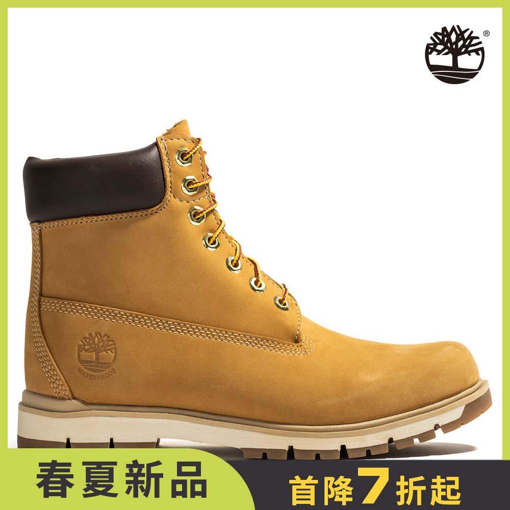 Timberland 男款小麥黃絨面Radford 6吋防水靴 | A1JHF231