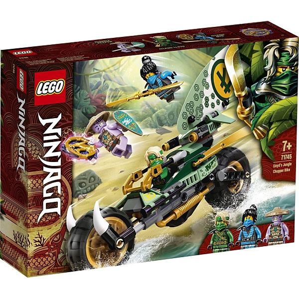 樂高積木 LEGO《 LT71745 》 NINJAGO 旋風忍者系列 - 勞埃德的叢林摩托車 / JOYBUS玩具百貨