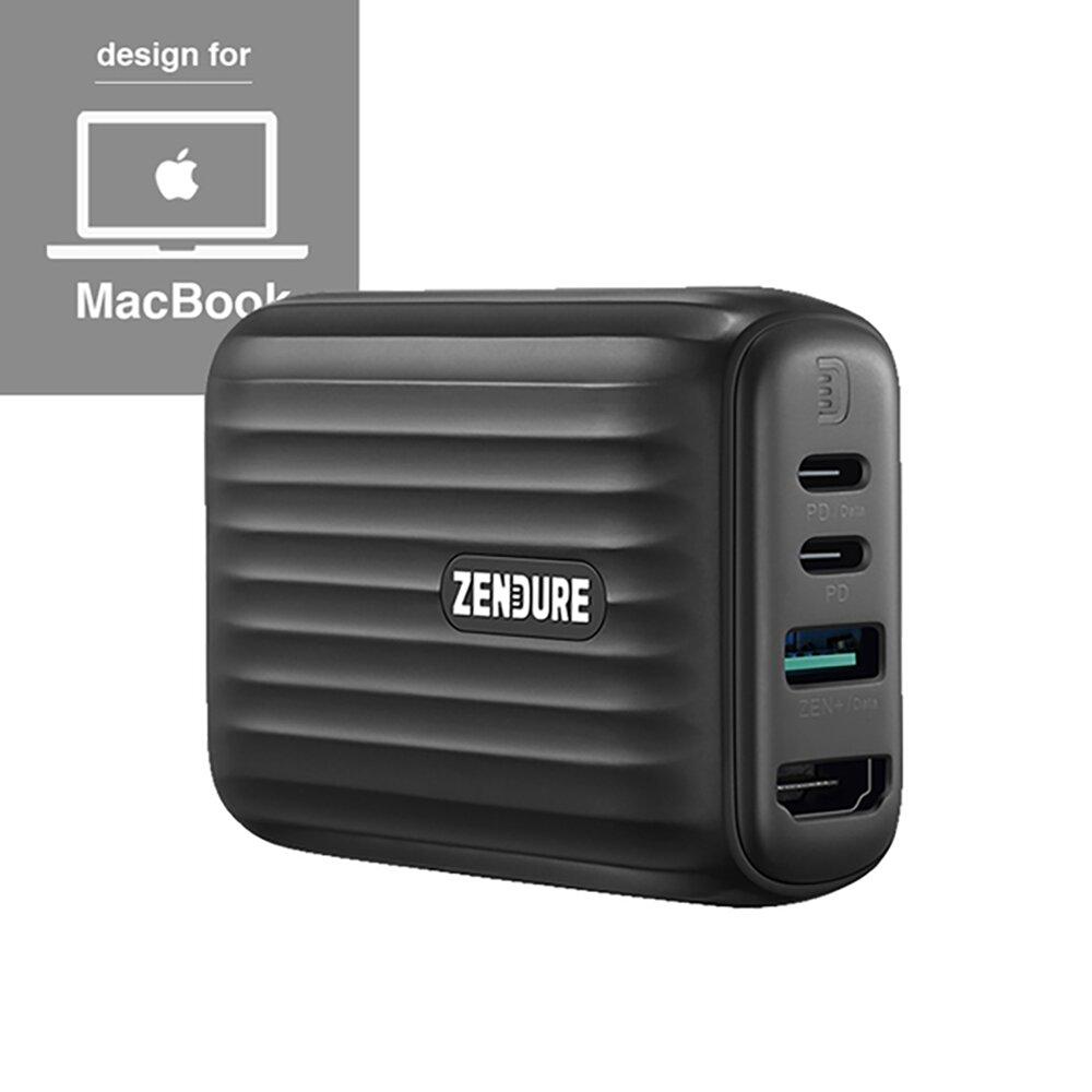 Zendure|48W SuperHub 多合一充電集線轉接器 (Mac款)