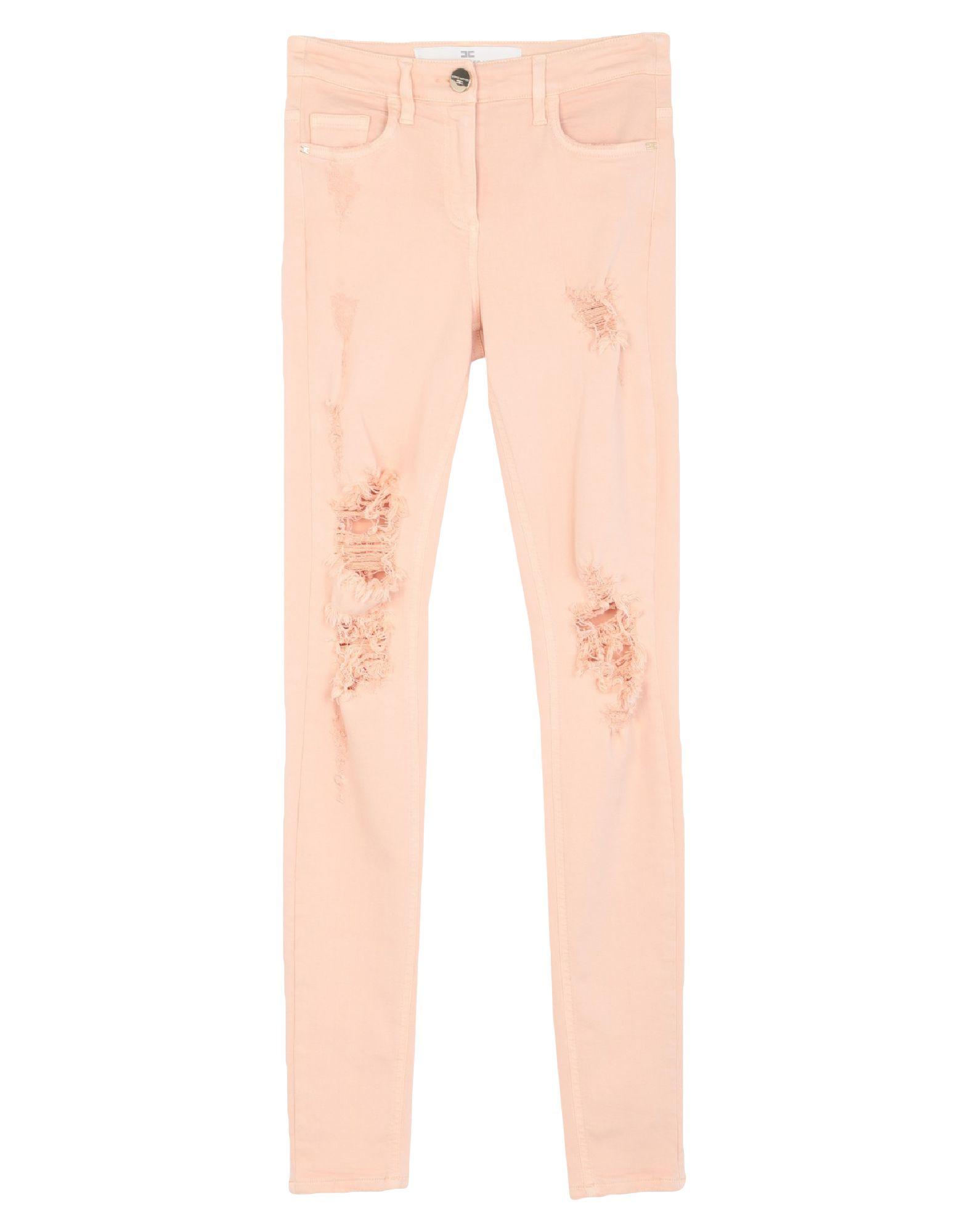 ELISABETTA FRANCHI Denim pants - Item 42774723