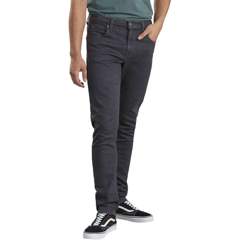 【DICKIES】美版 XD714 低腰合身 牛仔長褲 (GSDW 水洗深灰)