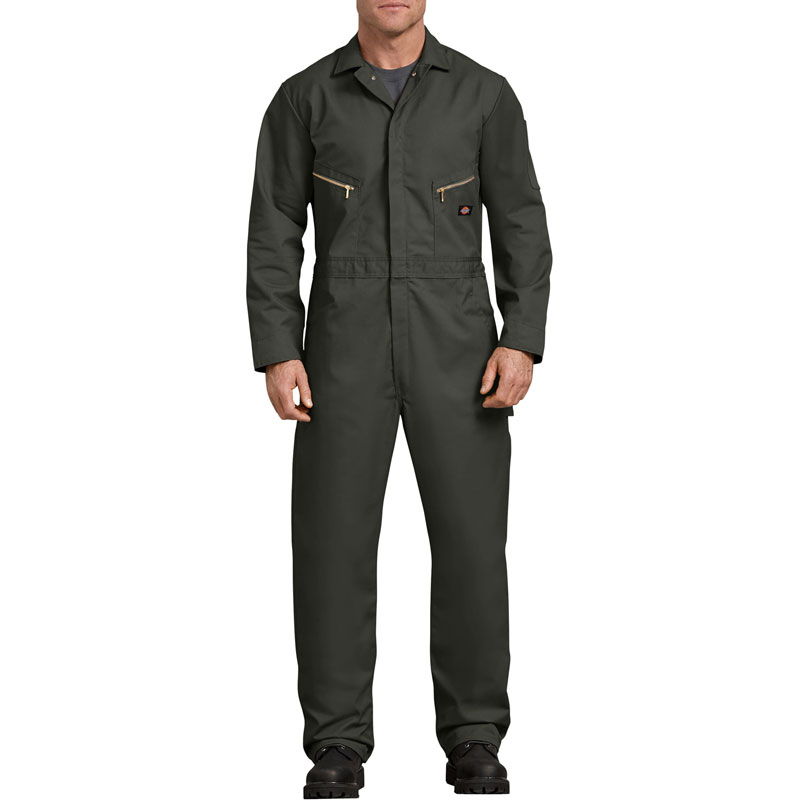 【DICKIES】48799 Deluxe Coverall 長袖連身 工作服 (OG橄欖綠)