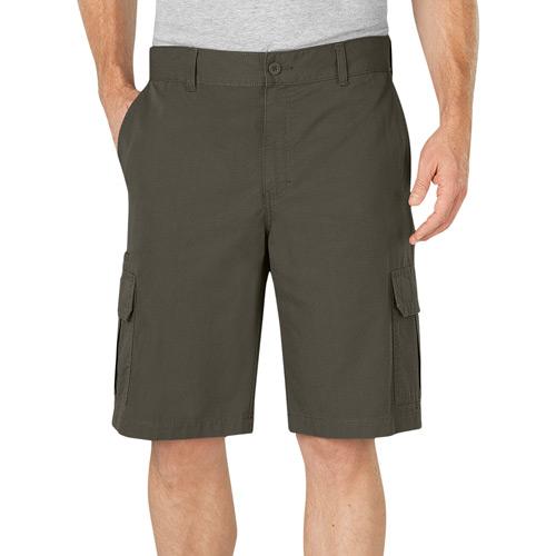 "【DICKIES】WR351 11"" Lightweight Cargo Shorts 中低腰直筒六袋抗撕裂 工作短褲 (RMS軍綠)"