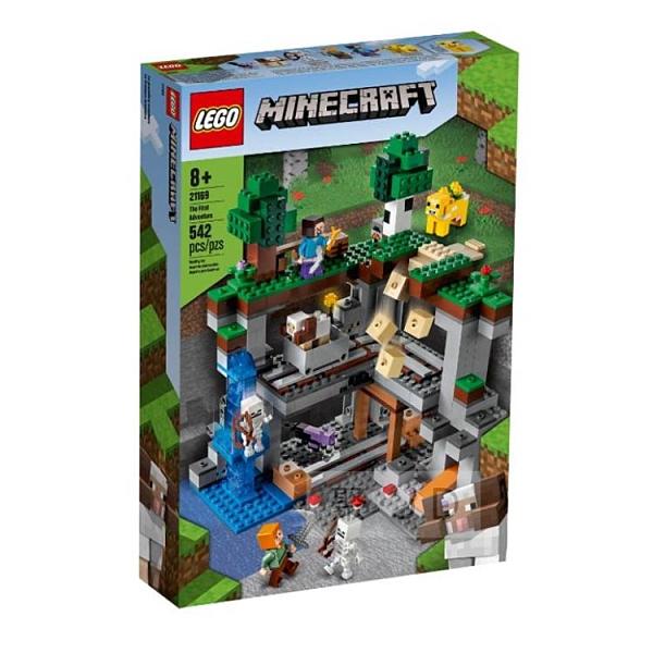21169【LEGO 樂高積木】Minecraft 創世紀系列 - First Adventure