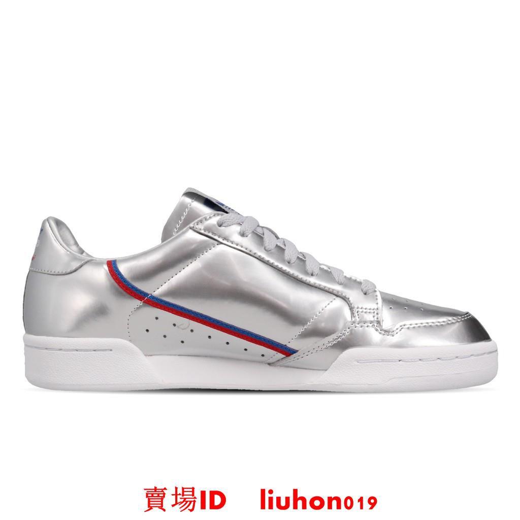 adidas 休閒鞋 Continental 80 銀 白 男鞋 女鞋 運動鞋 FW5350