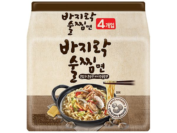 酒蒸蛤蠣風味湯麵(133gx4包)【DS000137】