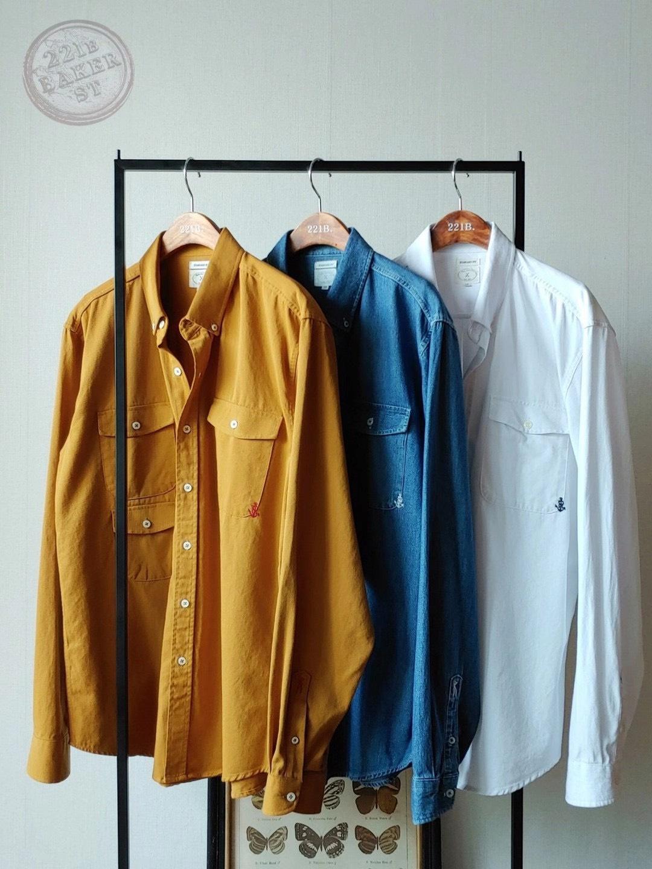 Chemistry_Boys - 韓國 口袋襯衫 (三色)