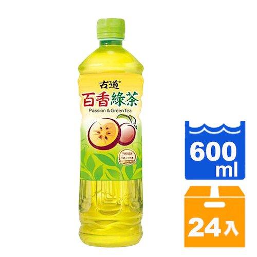 【免運】古道 百香綠茶 600ml (24入)/箱