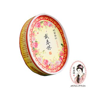 【戴春林】經典鴨蛋香粉 #玫瑰香型 35g