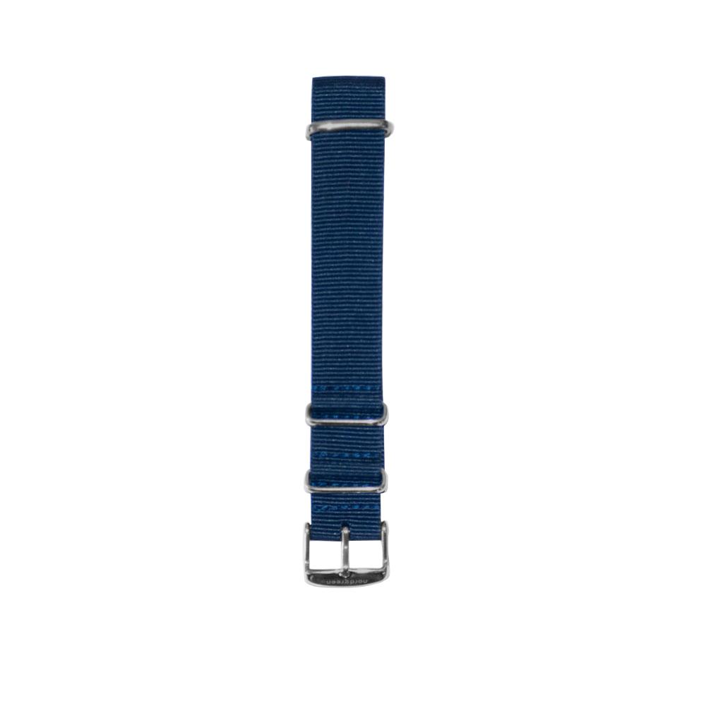 【限時優惠9折!】北歐藍尼龍錶帶 深空灰錶扣 18mm(徑36用) / 20mm(徑40/42用) Nordgreen 原廠快拆錶帶 ND錶帶 熱賣中!