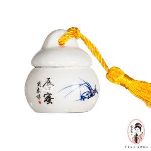 【戴春林】MINI陶瓷系列 唇蜜 #橙色 4g