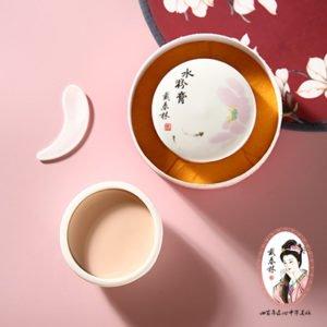 【戴春林】蓮花瓷瓶桃花水粉膏 (古典粉底)