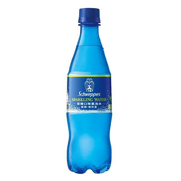 Schweppes舒味思萊姆口味氣泡水500ml【康是美】