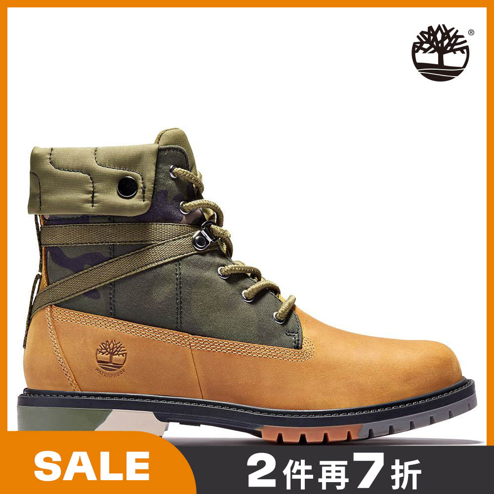 【Model穿搭款】Timberland 女款小麥黃全粒面地球守護者經典6吋靴|A2J3X231