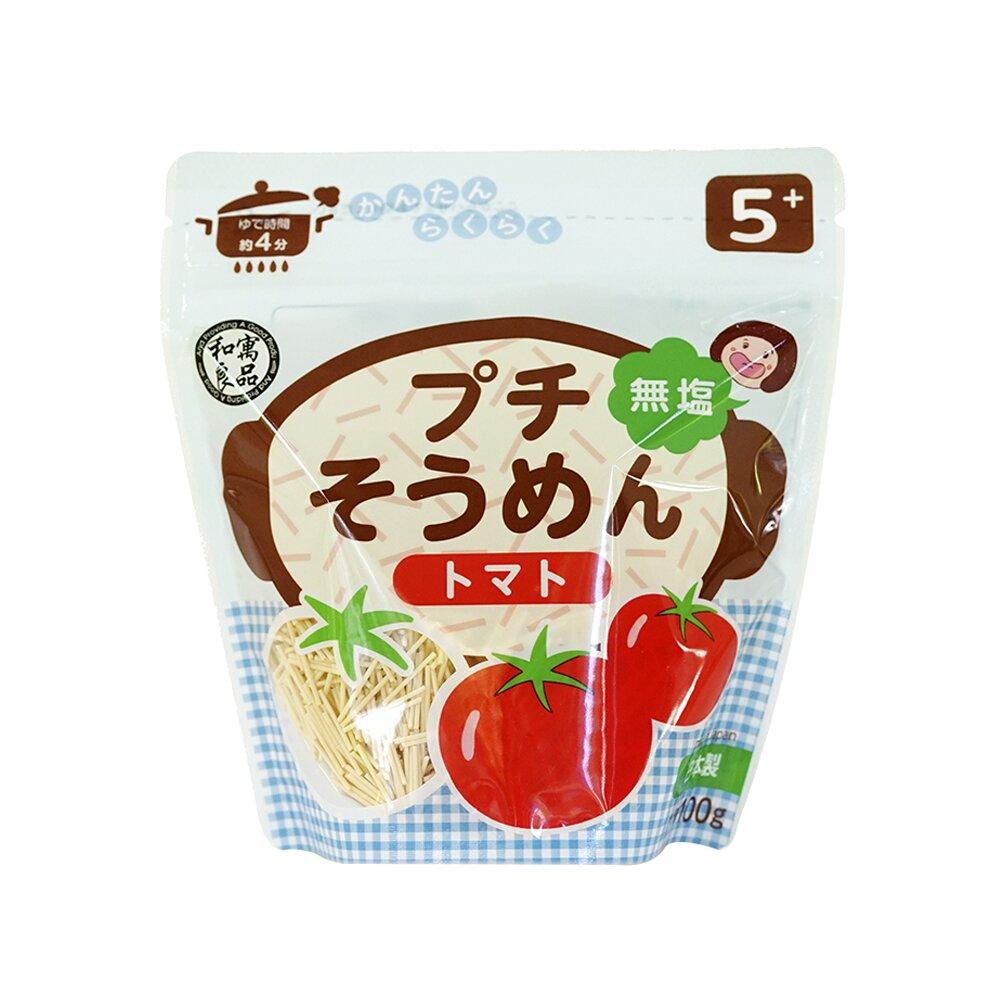 日本和寓良品 寶寶鮮蔬番茄細麵(5M)