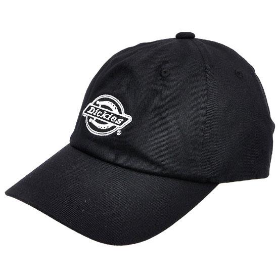 【DICKIES】日本限定 14020600-80 LOW CAP 刺繍 老帽 / 棒球帽 (黑色)