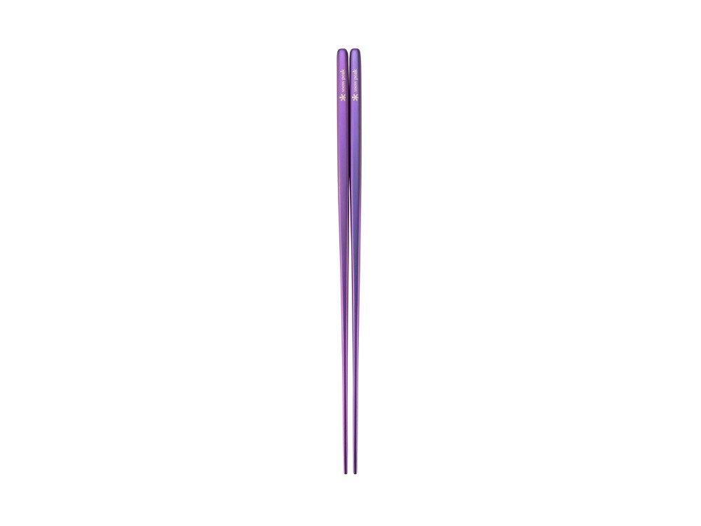 snowpeak 鈦金屬筷 紫色 / SCT-115-PL
