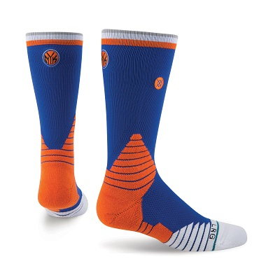 【STANCE】New York Knicks Logo Crew Socks NBA紐約尼克 男款 中筒襪 / 小腿襪 M559C5LCKN-BLU