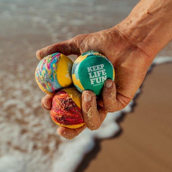 瑞典《Waboba》凝膠球 / 水上彈力球 / Waboba Surf 103C02-PA鳳梨