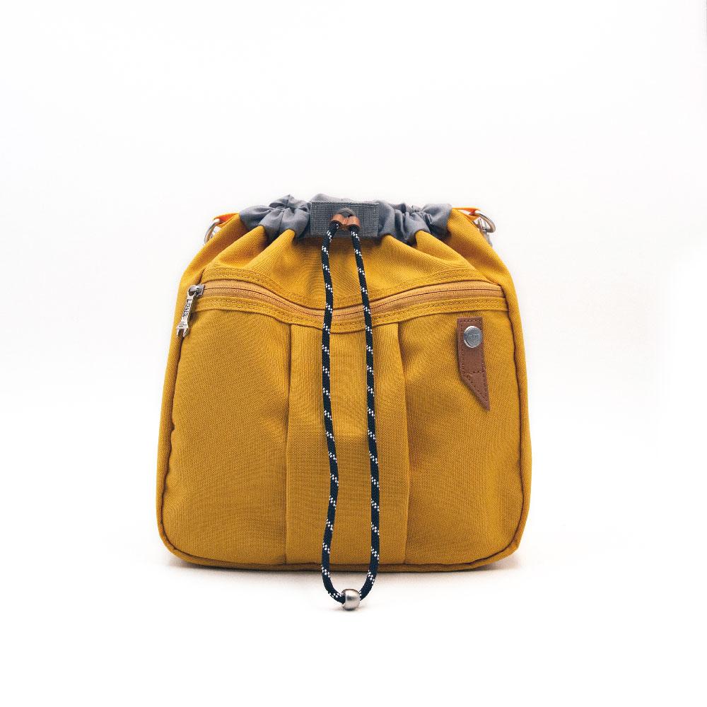【限時九折】RITE環保紗系列 EV01魚缸包-L 芥黃