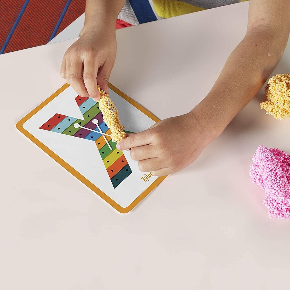 美國Educational Insights 魔塑粒粒黏土-ABC圖像單字組 Unicorn
