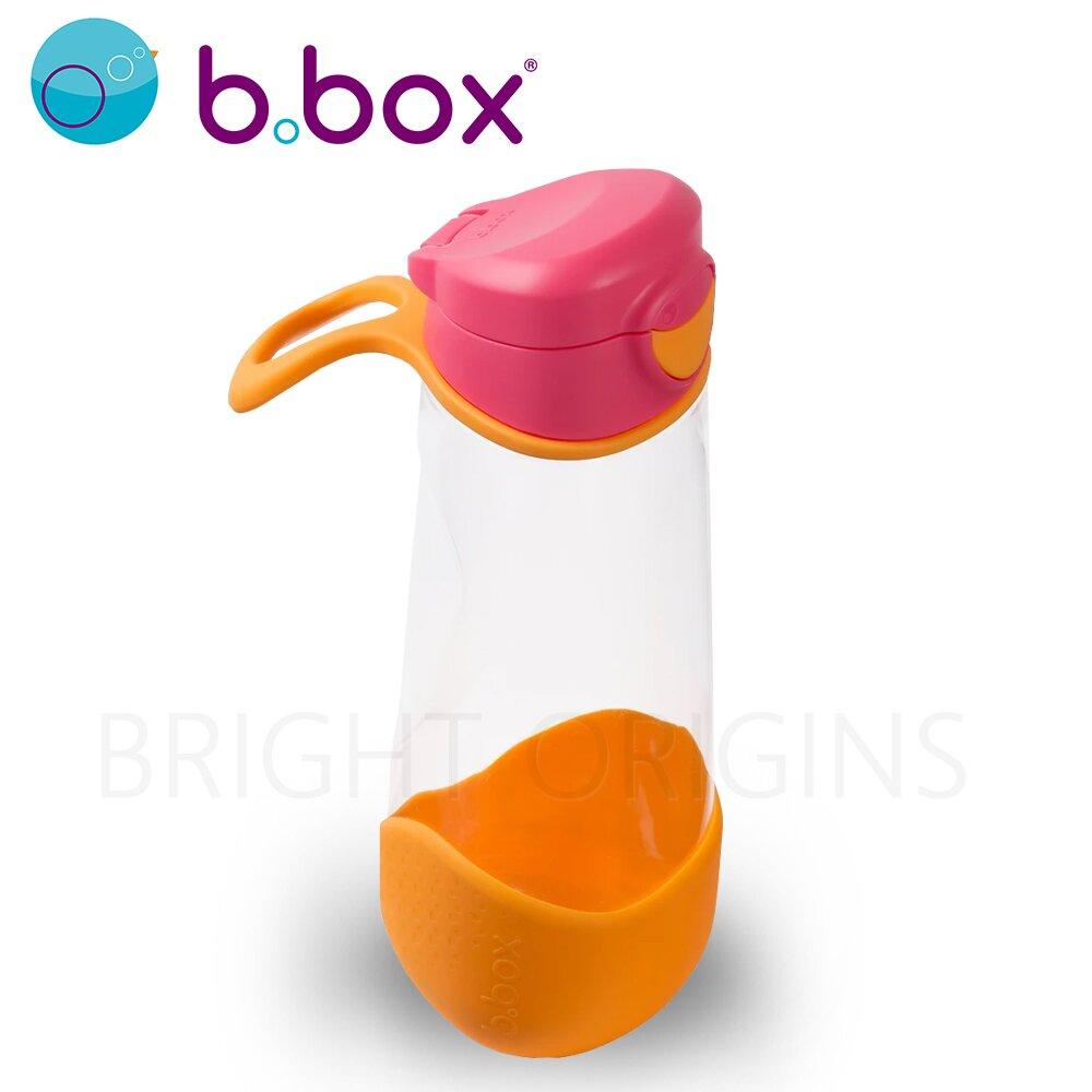 澳洲b.box 直飲水壺 600ml-草莓粉