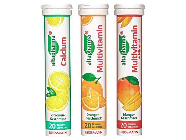 德國Altapharma~發泡飲品(20錠入) 款式可選【DS000128】發泡錠