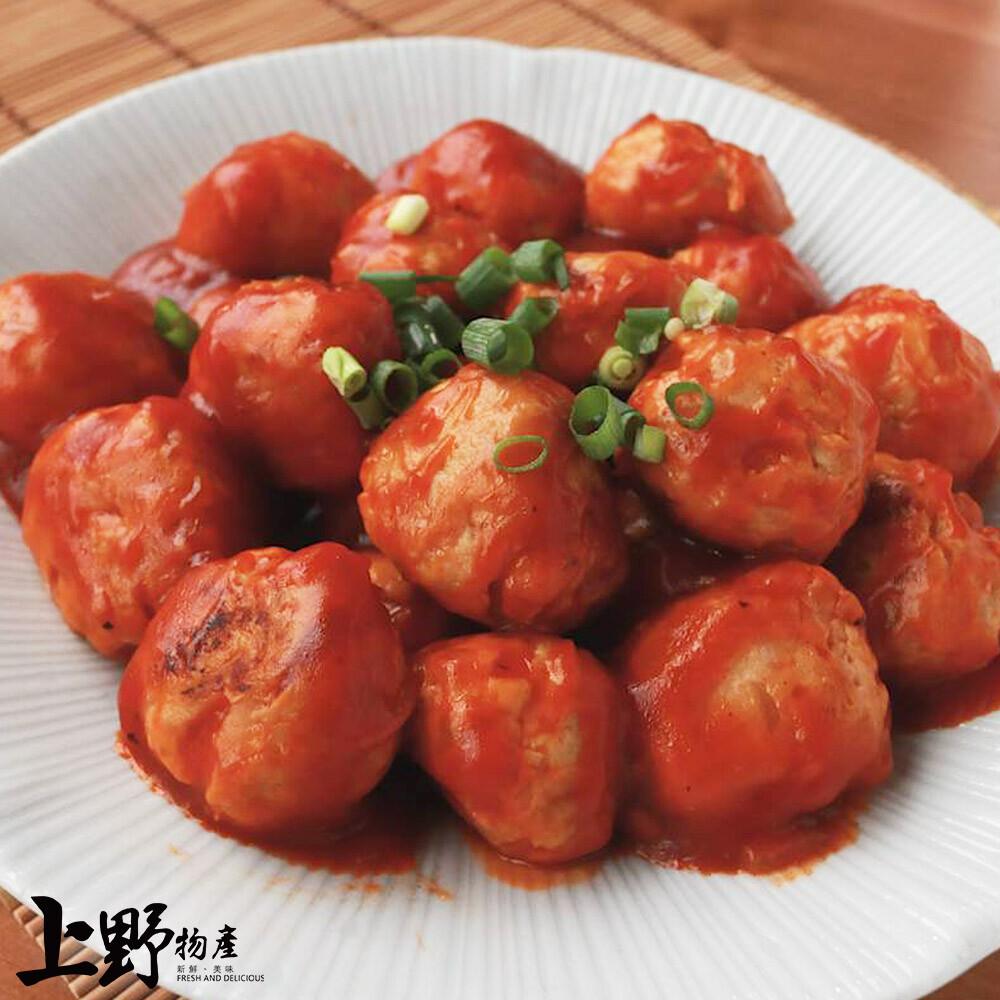 上野物產 芹菜地養雞肉丸(30g10%/顆)