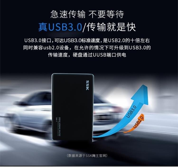 移動硬盤盒 金屬usb3.0高速移動硬盤盒2.5英寸SATA/機械/ssd固態串口通用硬盤盒