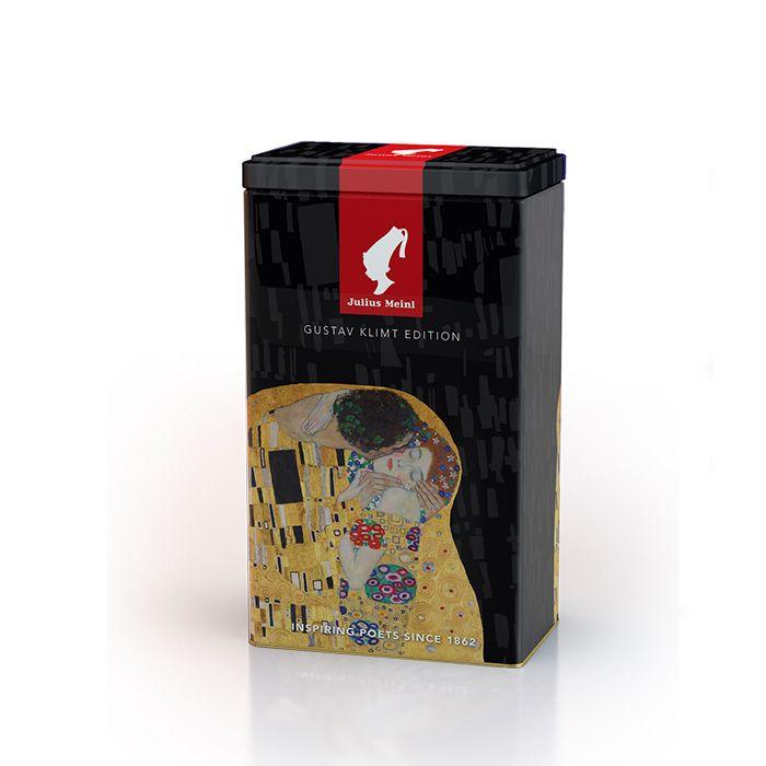 典雅霧黑克林姆藝術密封空罐(不含咖啡豆/粉) Julius Meinl  Klimt Coffee Container empty 500g