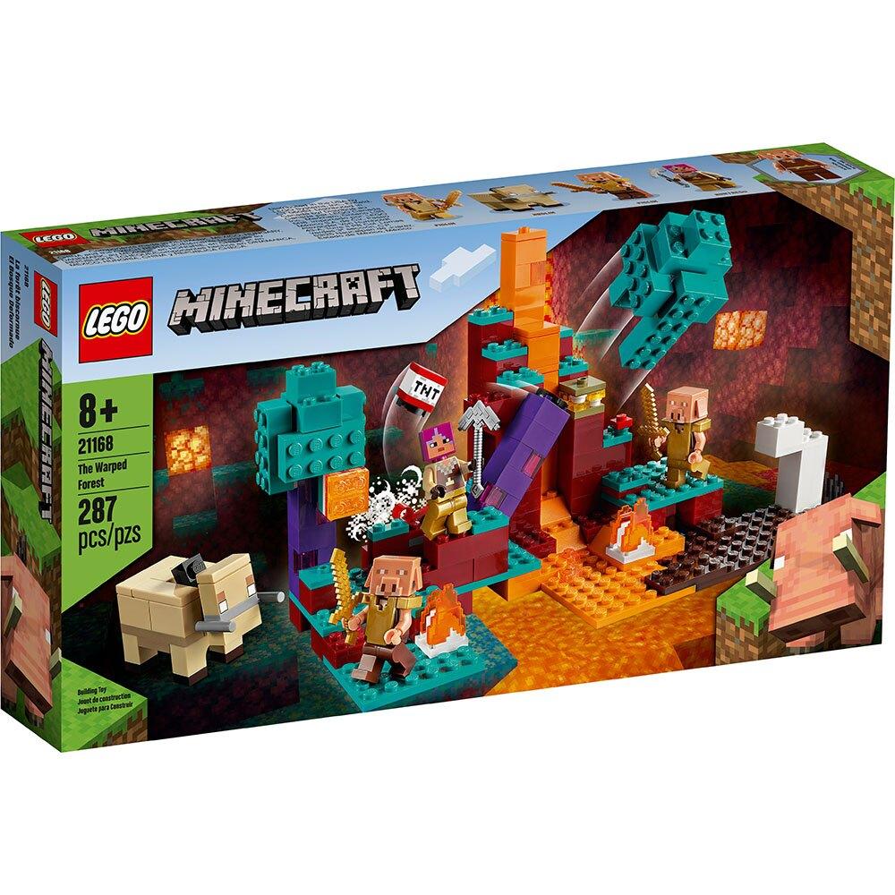 樂高LEGO 21168 Minecraft系列 The Warped Forest
