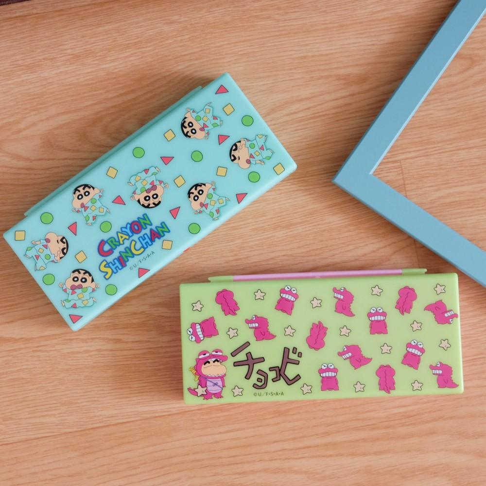 《蠟筆小新》日本商品 小新系列置物盒 鉛筆盒