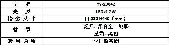 【燈王的店】太陽能庭園燈 柱頭燈 柱台燈 ☆ YY20042