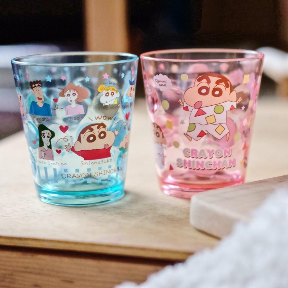 《蠟筆小新》日本商品 高質感小新水杯 漱口杯 兒童水杯 戶外餐具