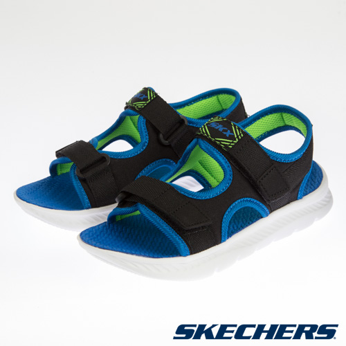 SKECHERS 男童 涼拖鞋系列 C-FLEX SANDAL 2.0 - 400042LBBLM