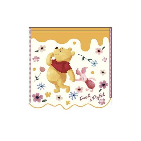 小熊維尼Winnie the Pooh方巾34x36cm,浴巾/毛巾/吸水巾/長巾/運動毛巾/汗水擦巾,X射線【C732962】