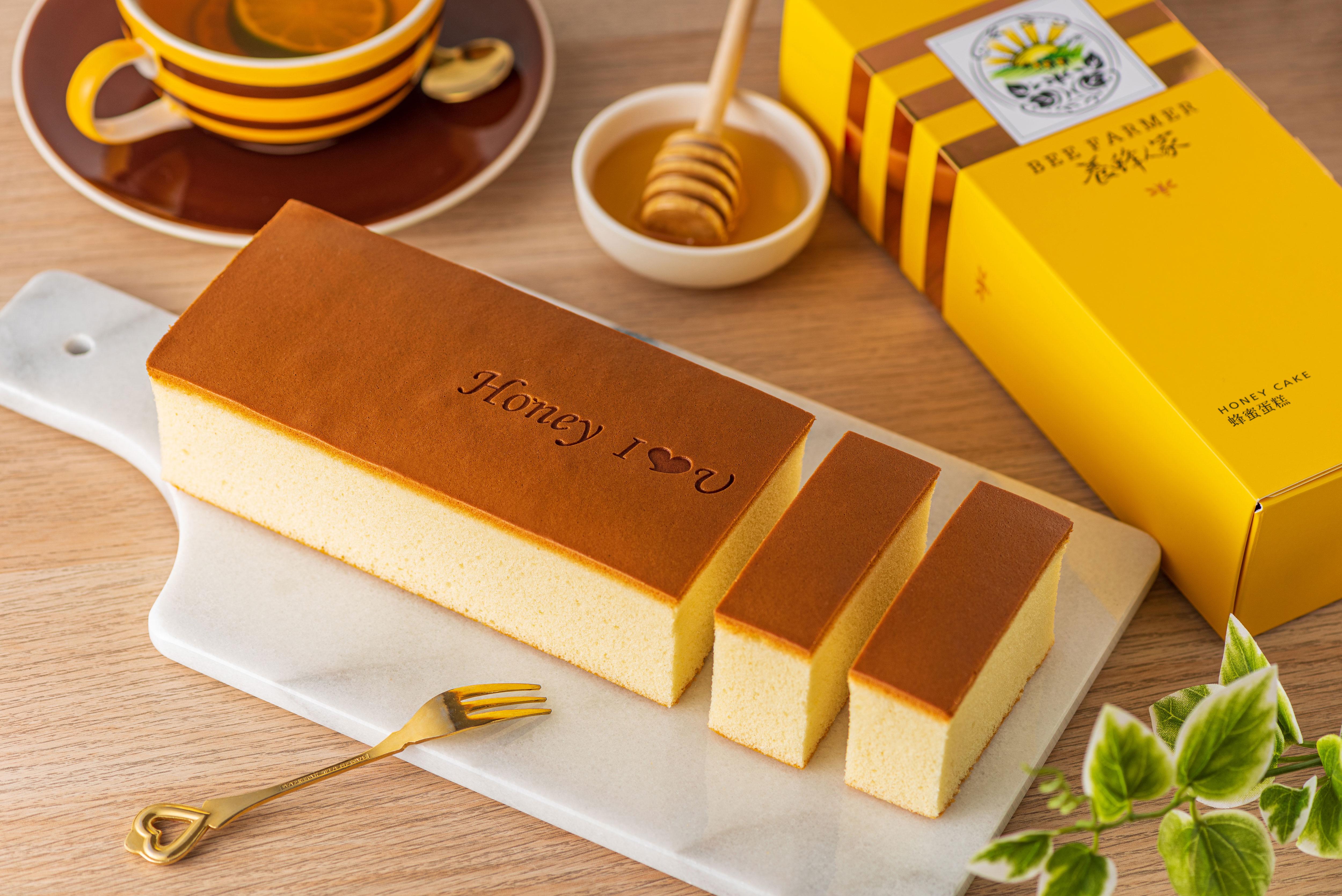 蜂蜜蛋糕480g  手工製作/蛋糕/甜點/下午茶/蜂蜜蛋糕首選【養蜂人家】