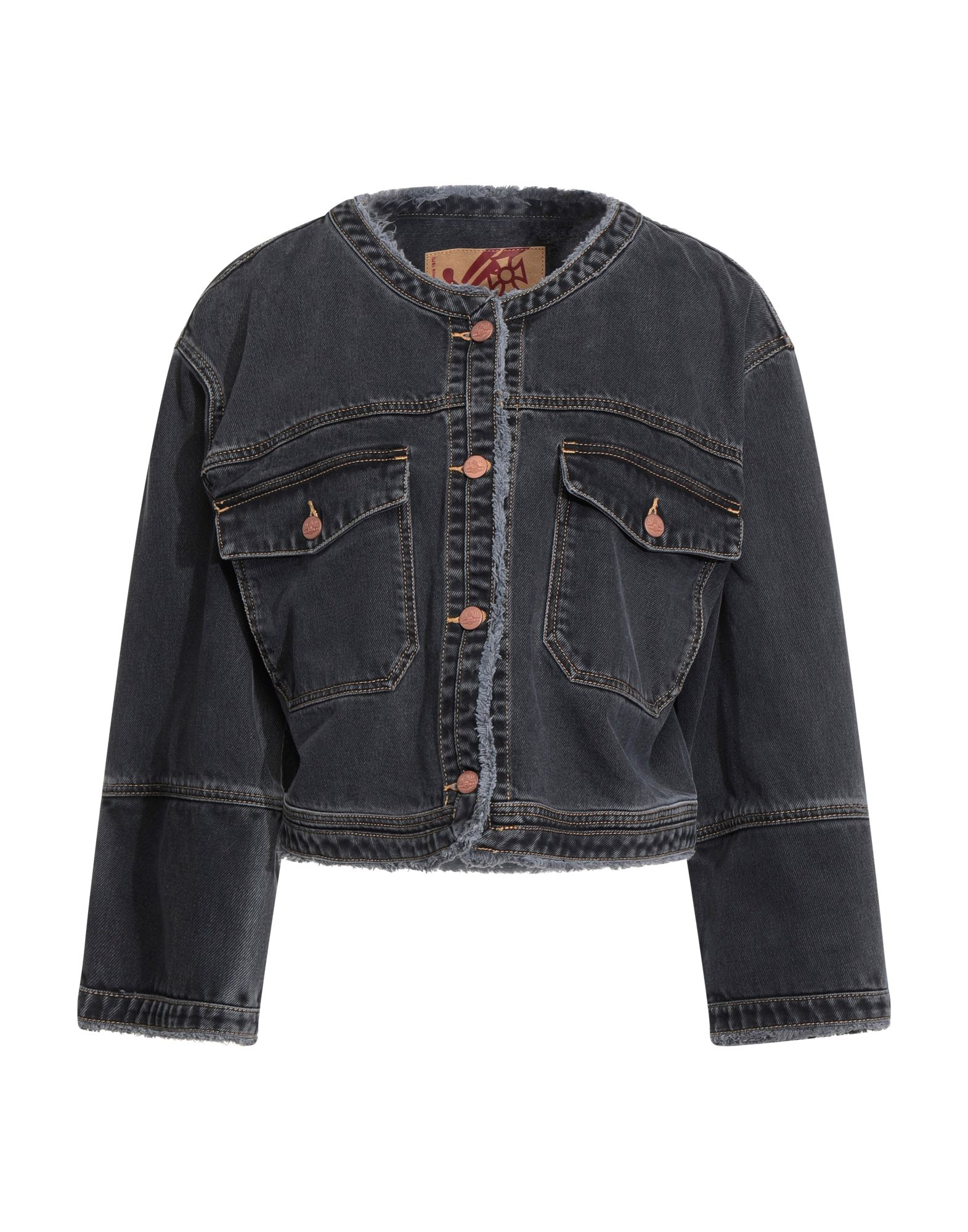 VIVIENNE WESTWOOD ANGLOMANIA Denim outerwear - Item 42836220