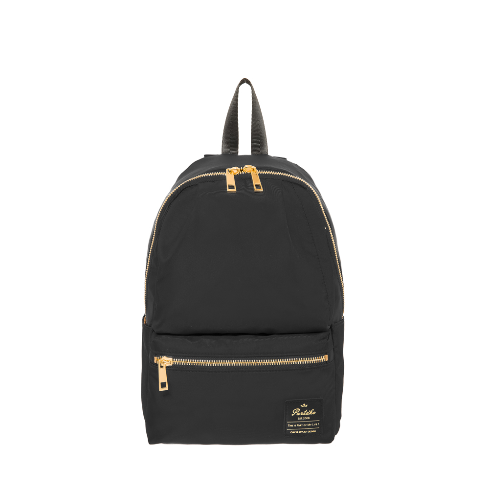 【PARTAKE】D6-10口袋後背包(小)-黑 PT19-D6-85BK