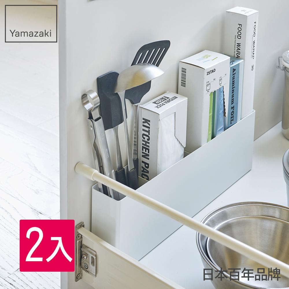 【超值優惠】tower櫥櫃分隔置物架(白)-2入/限量搶購/買越多省越多/加碼點數2倍送