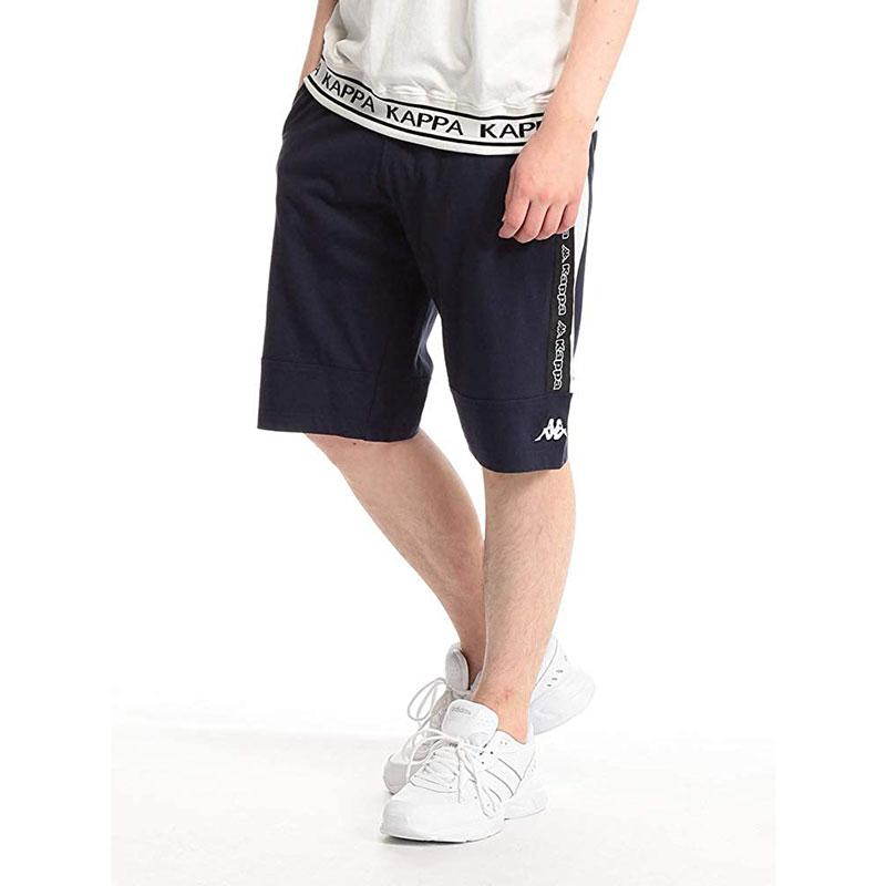 KAPPA - X40301 運動短褲 / 抽繩短褲 (黑色)