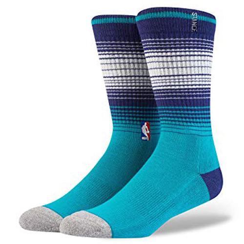 【STANCE】Charlotte HORNETS Arena Core Crew Sock NBA球隊襪 男款 中筒襪 / 小腿襪 M558D5HORN-TEA