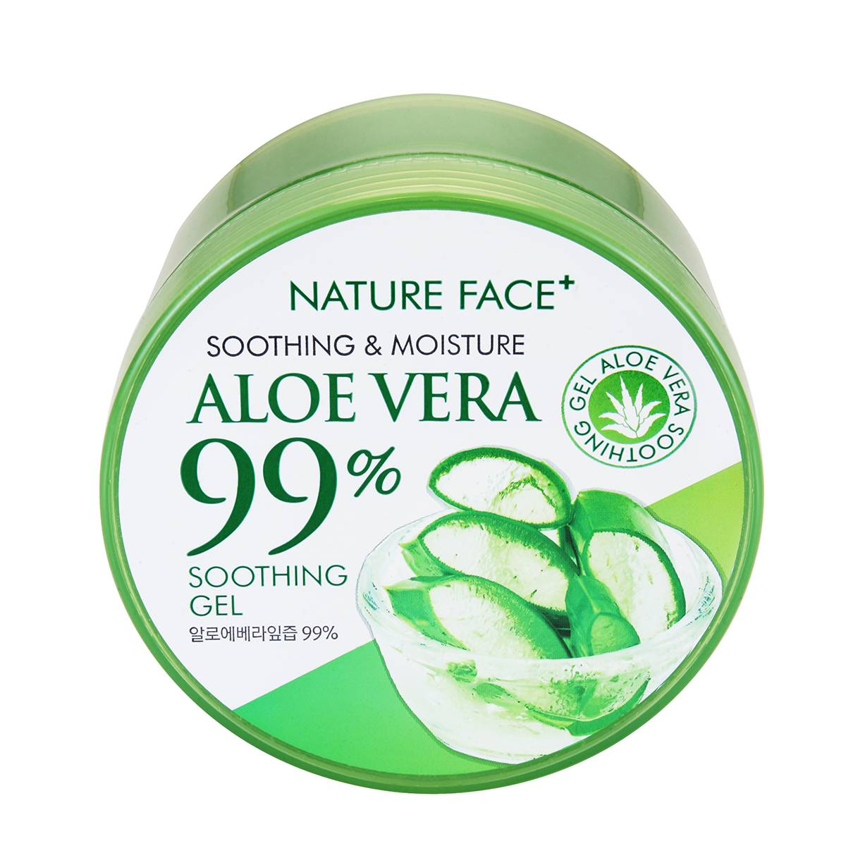 Nature Face 99% 蘆薈保濕舒緩凝膠 (300ml) 【康是美】